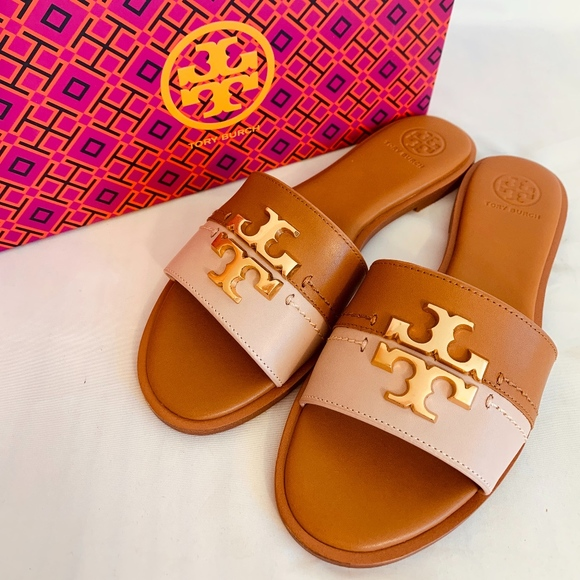 Tory Burch Shoes - Tory Burch NIB Everly Slide Sandals Leather